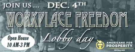 Workplace Freedom Lobby Day