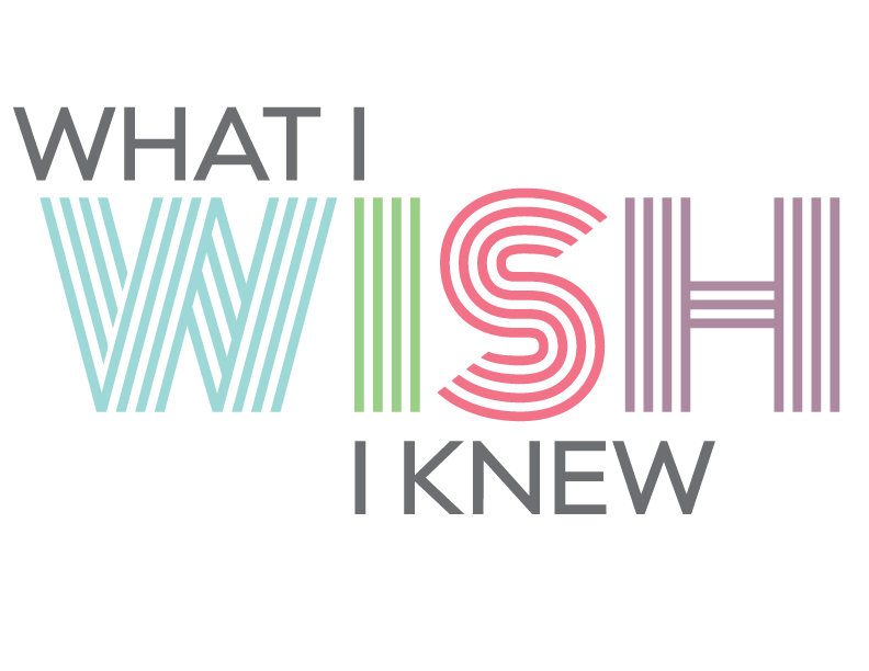 What I Wish I Knew Logo