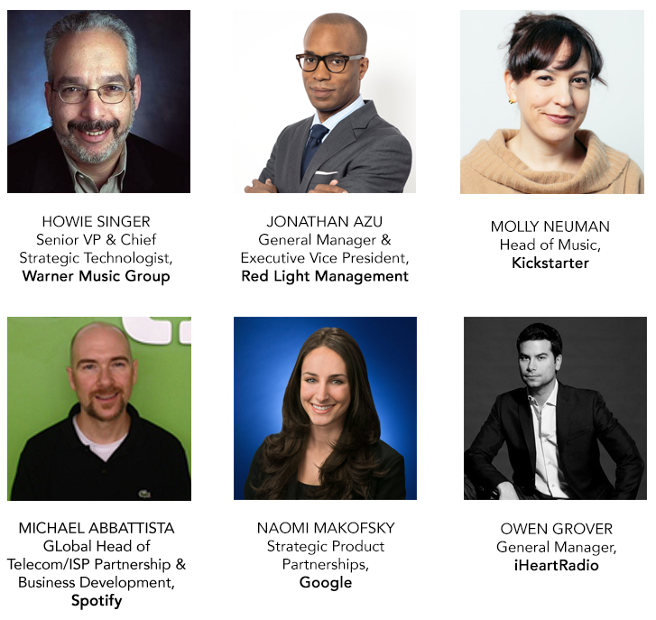 Digital Music Forum Featured Speakers