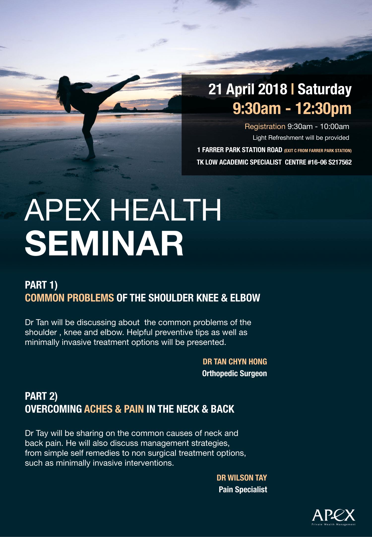 Apex Health Seminar EDM