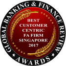 Best Customer-Centric FA Firm Singapore 2017