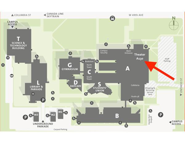 Map of Langara College