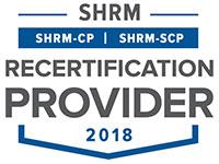 SHRM Approved Provider Logo