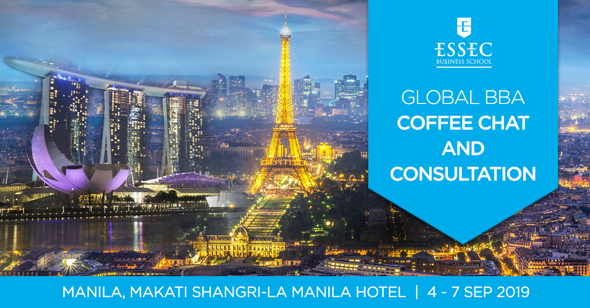 ESSEC Global BBA Coffee Chat Sep 2019 - Manila, Philippines