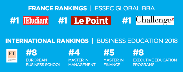 ESSEC Rankings