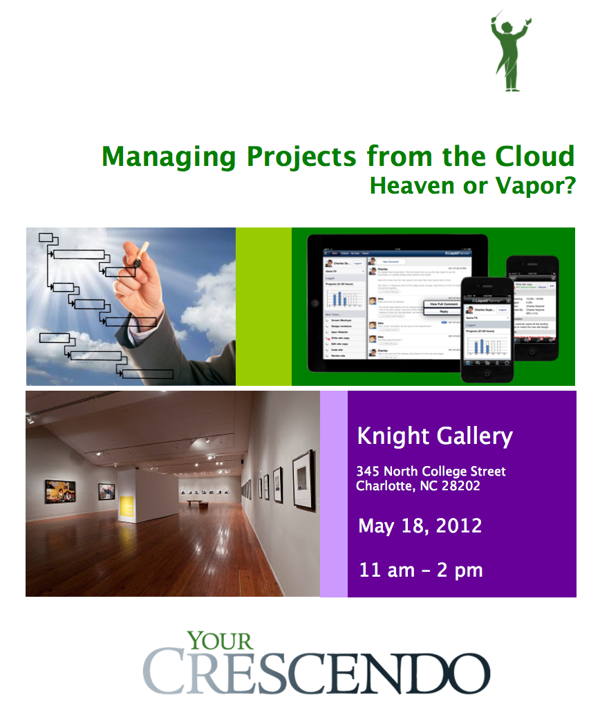 Your Crescendo - Managing Projects from the Cloud - Charlotte