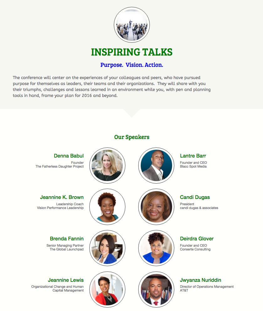 Inspiring Talks - Speakers