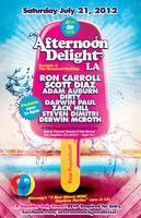 AFTERNOON DELIGHT LA @ Standard Rooftop Pool | RON CARROLL,...