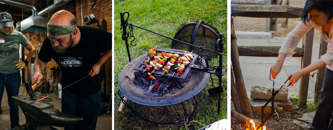 Summer Forge & Feast : Blacksmithing and Campfire Cooking Workshop