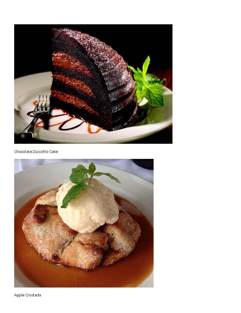 dessert 1 and 2