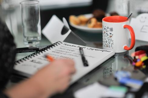 Sketchnote Tisch