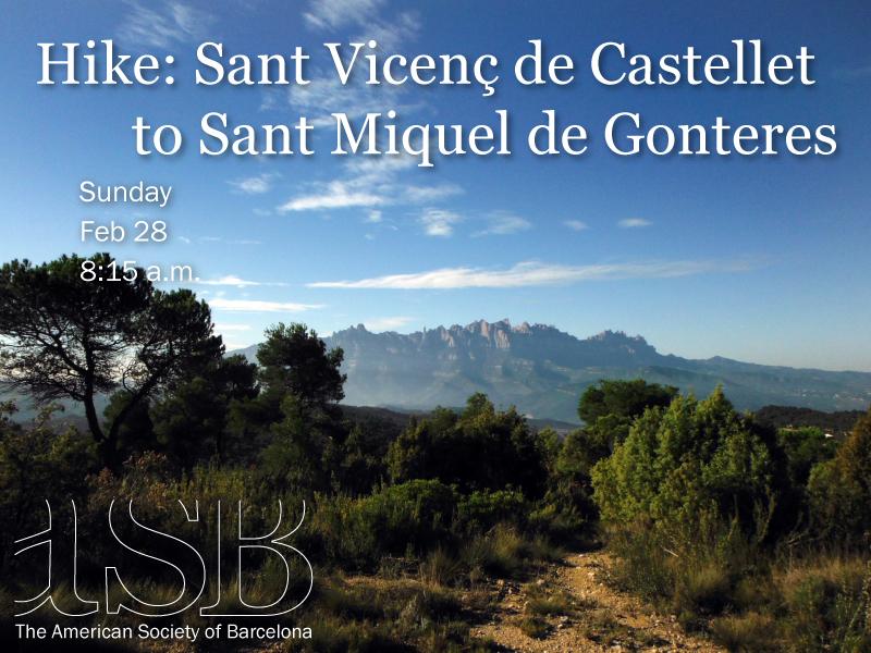 Hike: Sant Vicenç de Castellet to Sant Miquel de Gonteres