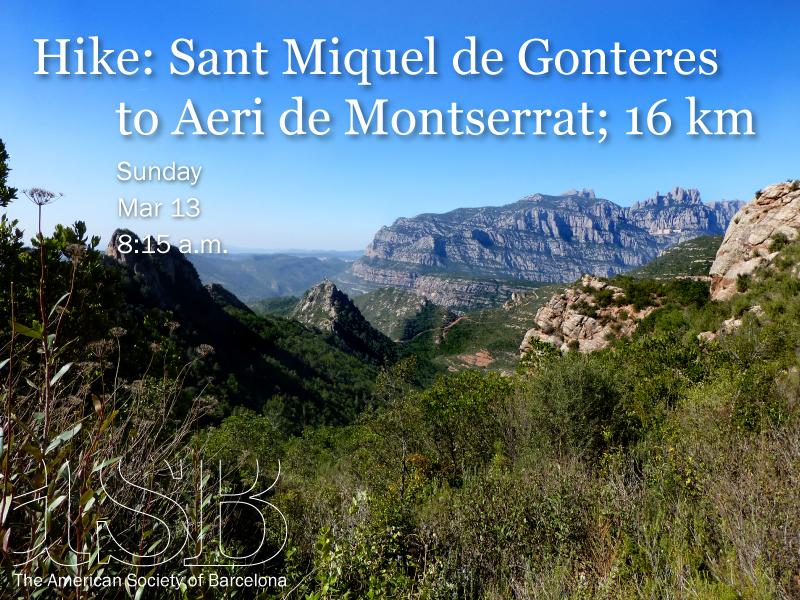 Hike: Sant Miquel de Gonteres to Aeri de Montserrat