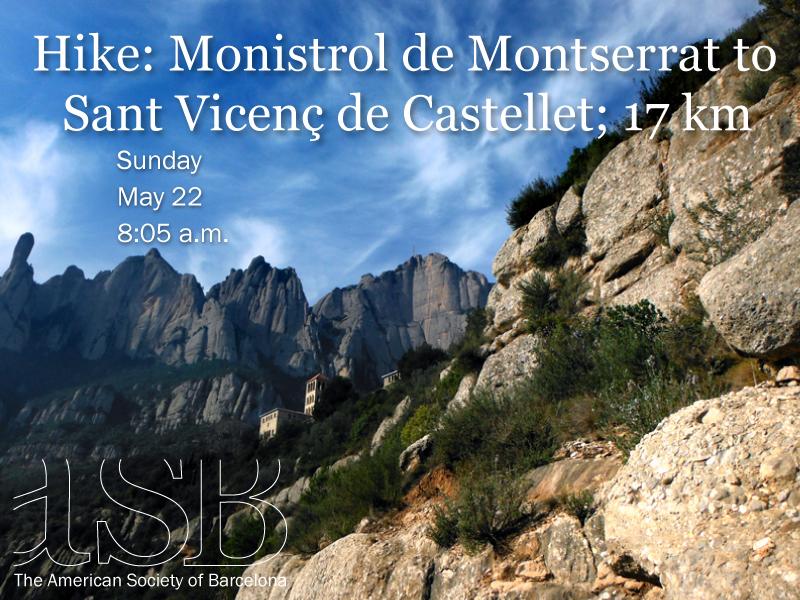 ASB Hike: Monistrol de Montserrat to Sant Vicenç de Castellet