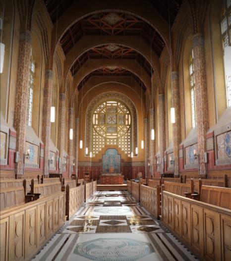 vue de la Chapelle art-déco