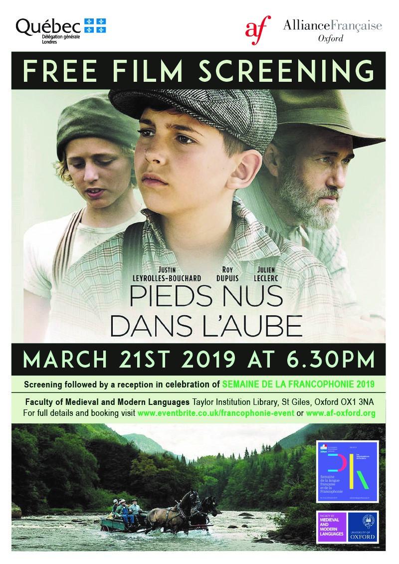 Free Film Screening_Quebec_AFOx_21March