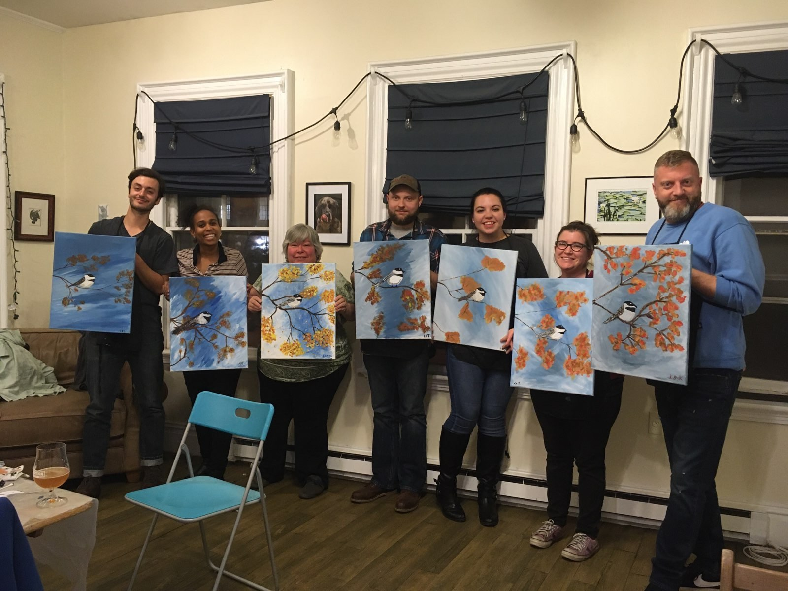 Results of Paint Night