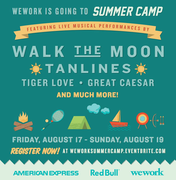 WeWork Summer Camp