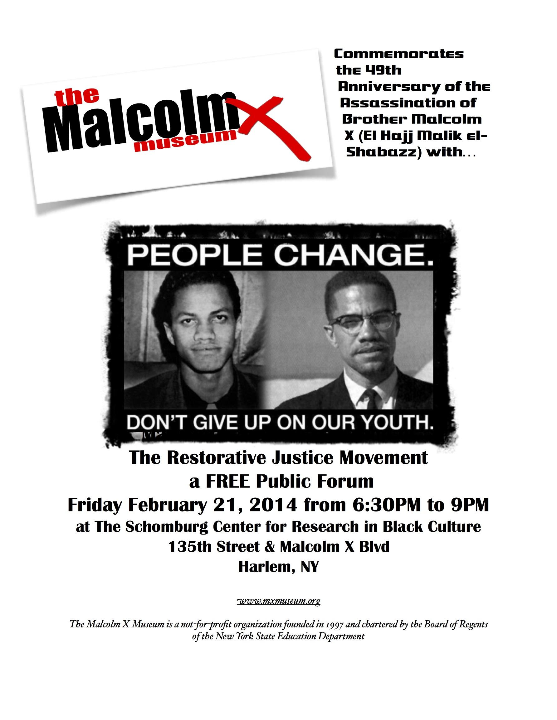 Malcolm X Museum Feb 2014