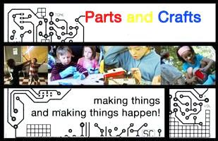 Girls Invention Week (summer 2012, week 1):  making things...