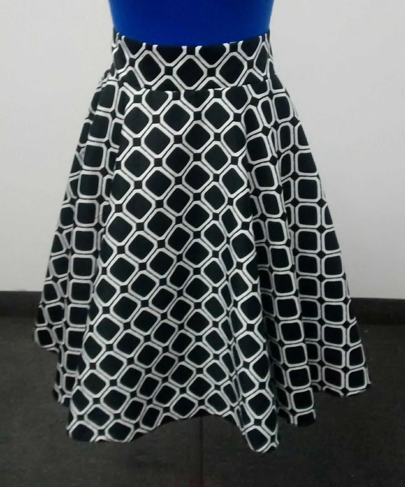 Half circle skirt (1/2)