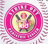 Strike Out Pediatric Cancer logo