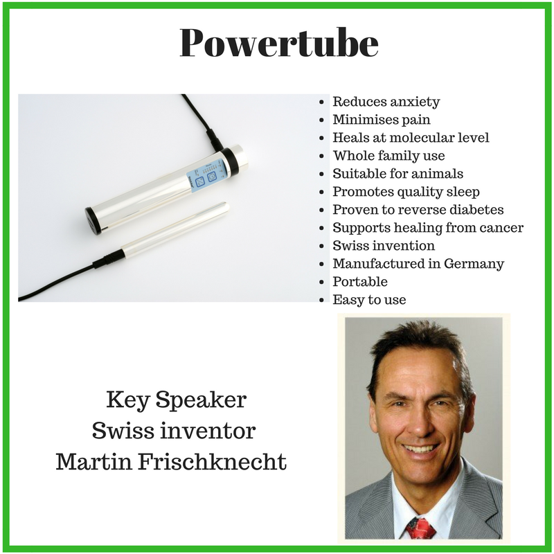 picture of the Powertube and benefits