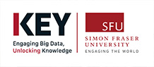 KEY, SFU's Big Data Initiative logo