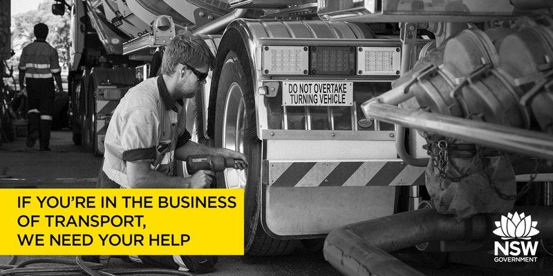 Transport Stakeholder Engagement Workshops by SafeWork NSW