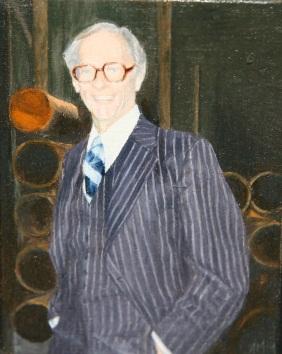 Ann Mikolowski , James Duffy at Warehouse, 1982, Oil on canvas, Bequest of James Pearson Duffy.