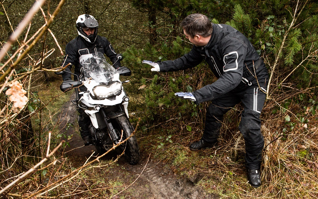 Tiger 1200 Triumph Adventure Experience Refresher Course