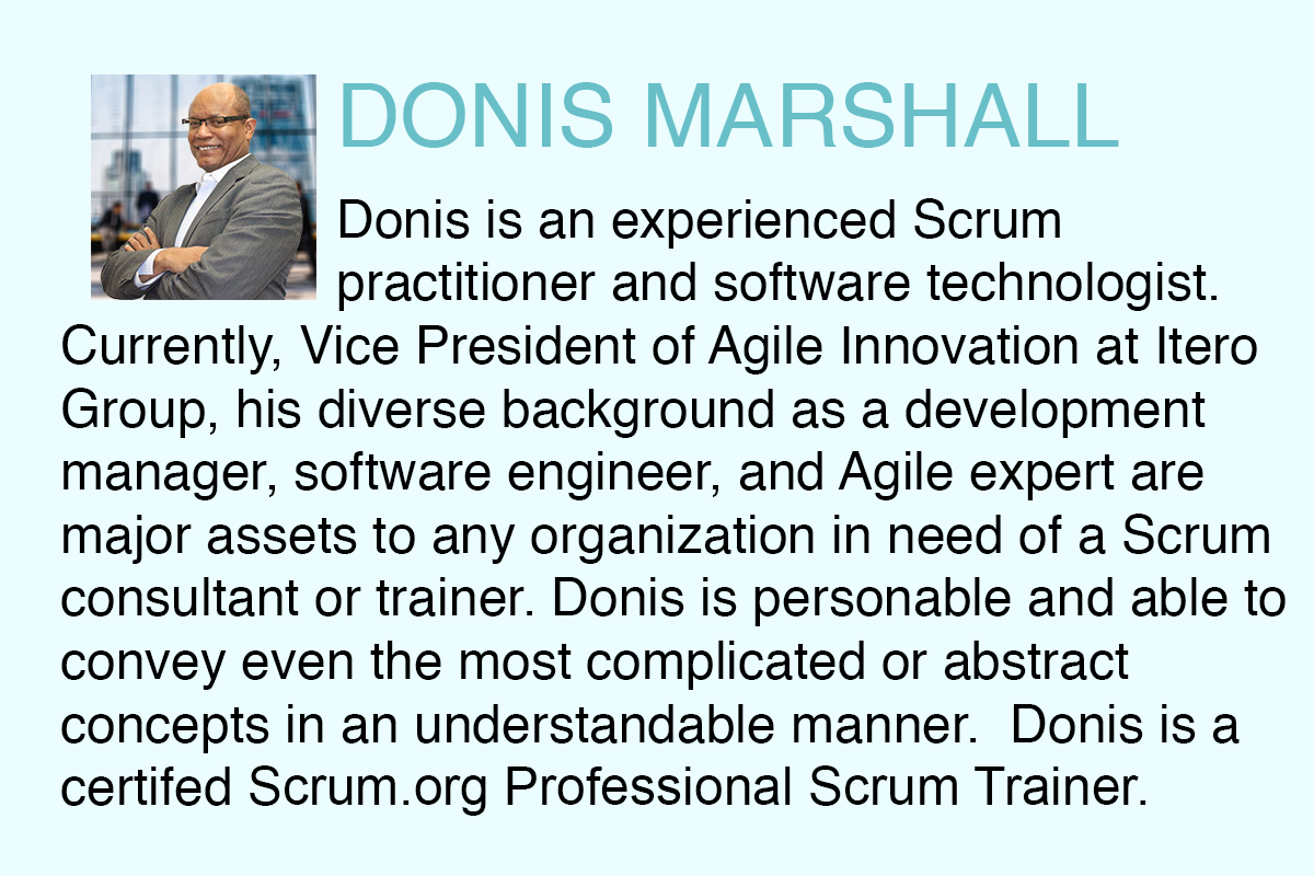 About Donis Marshall