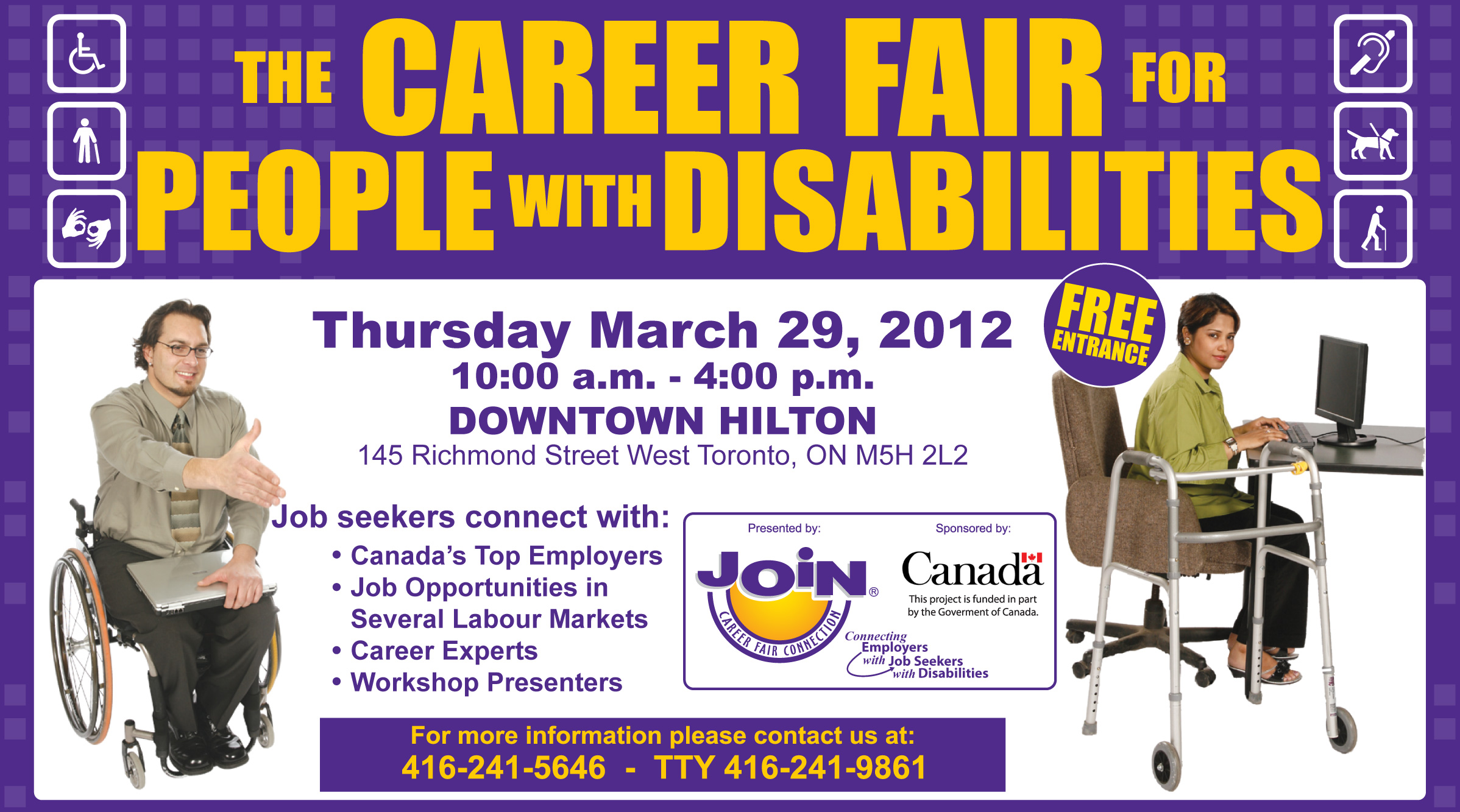 join career fair connection tickets thu mar 29 2012 at. Black Bedroom Furniture Sets. Home Design Ideas
