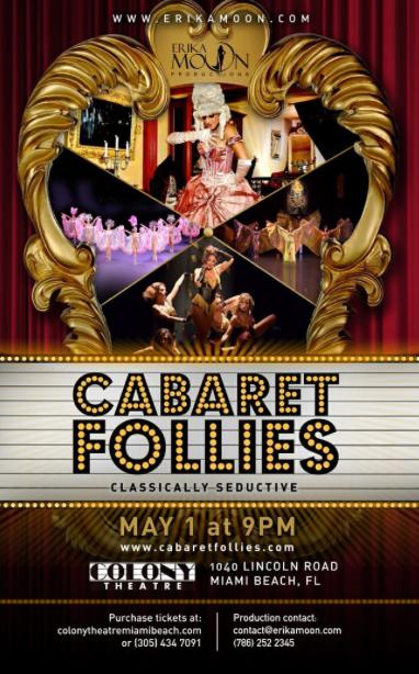 Cabaret Follies, Cabaret, Burlesque Revue and Variety Show