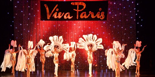 valentine's week-end viva paris show colony theater miami beach