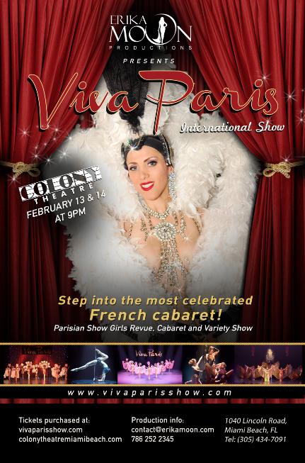 Valentine's Week-end Viva Paris International Show by Erika Moon