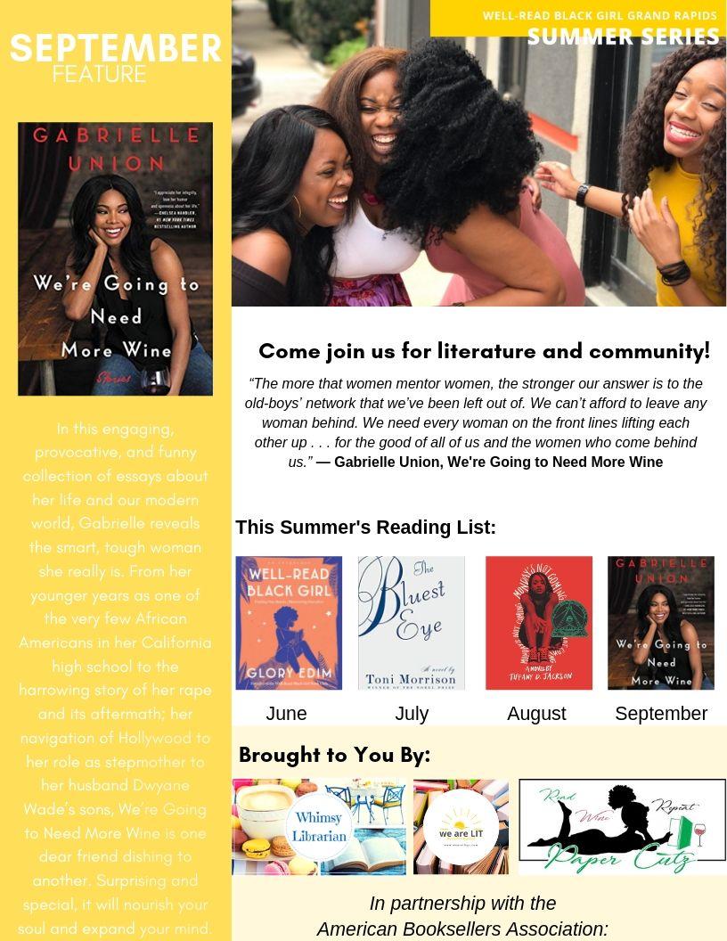 Well-Read Black Girl Grand Rapids