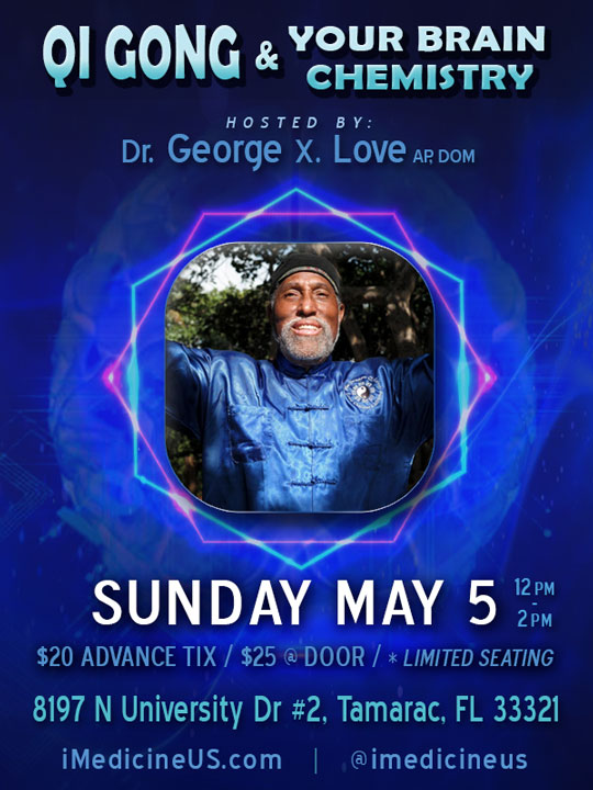 Qi Gong & Your Brain Chemistry Coral Springs May 5