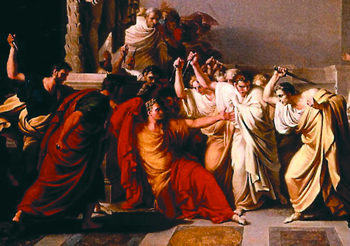 The Murder of Ceasar!