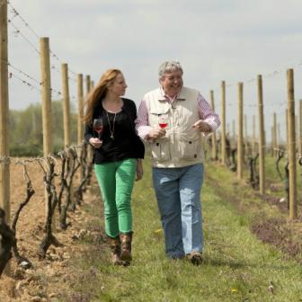 Walk through the vineyards