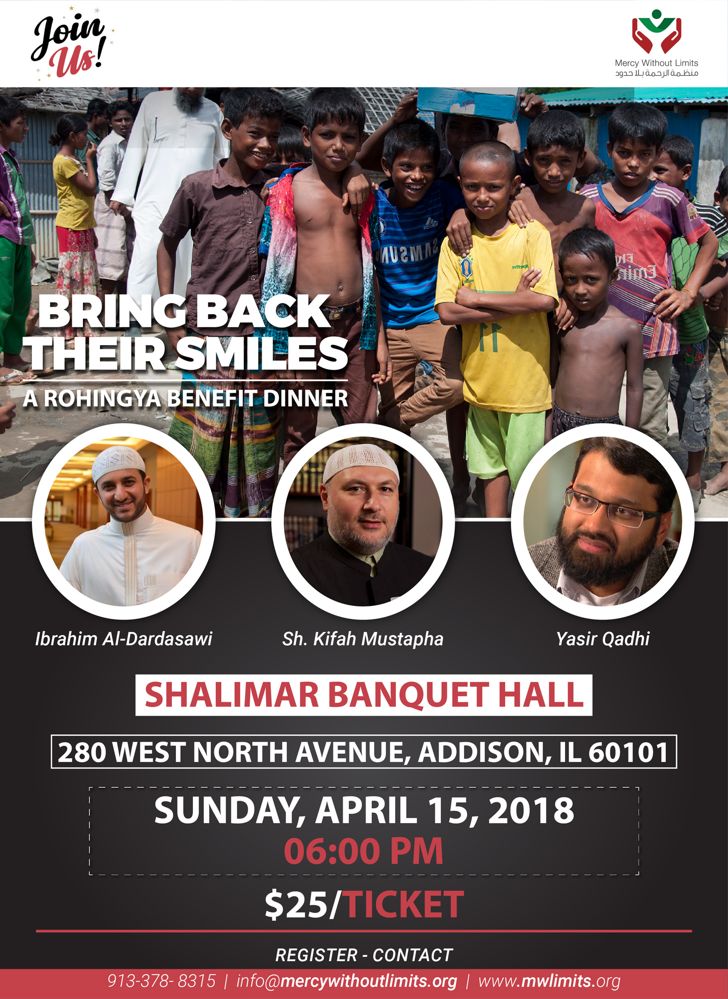 Bring Back Their Smiles Flyer
