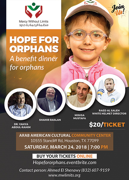 Hope For Orphans Flyer