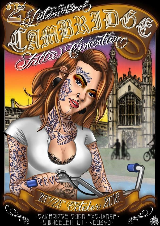 2nd Cambridge International Tattoo Convention