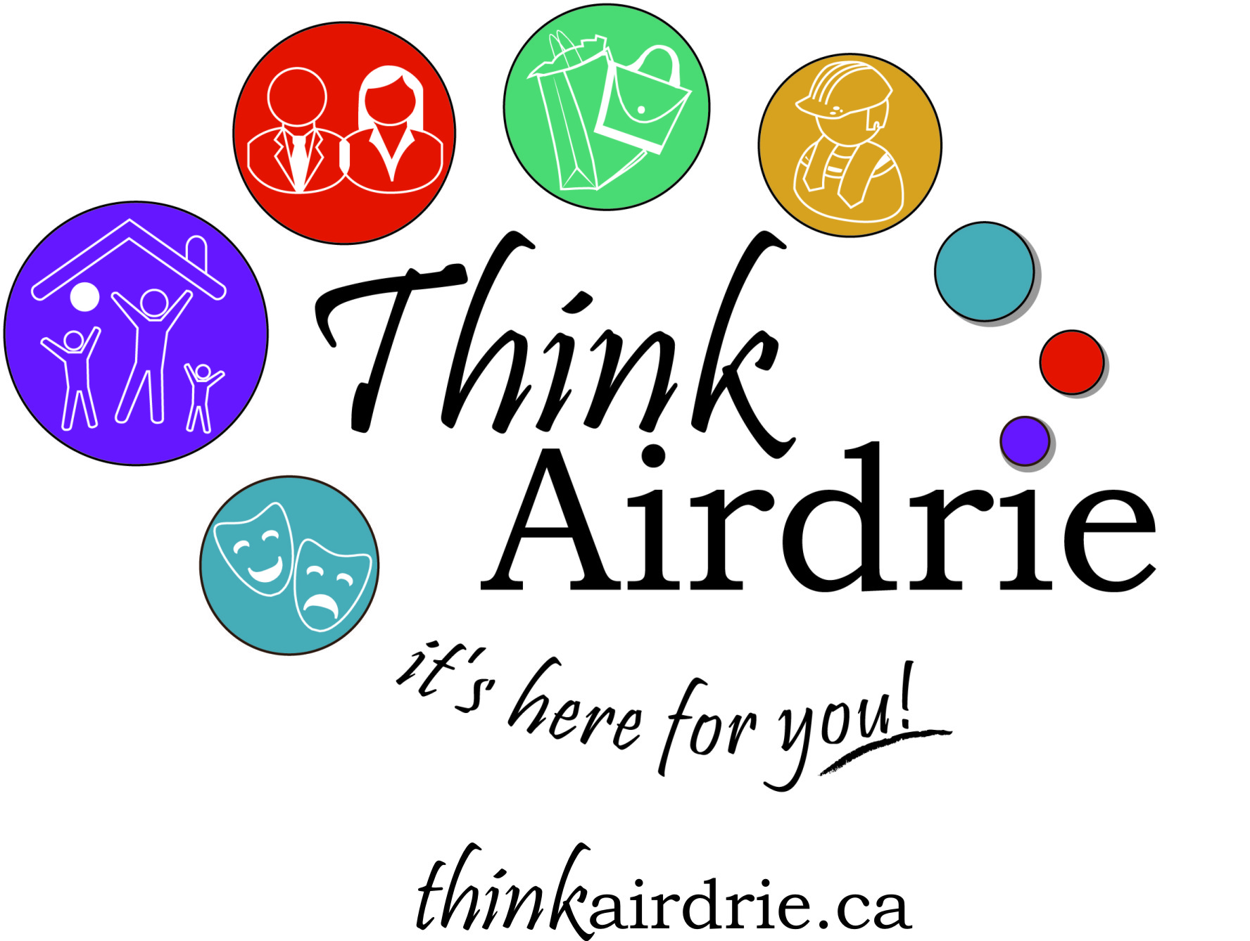 Think Airdrie logo