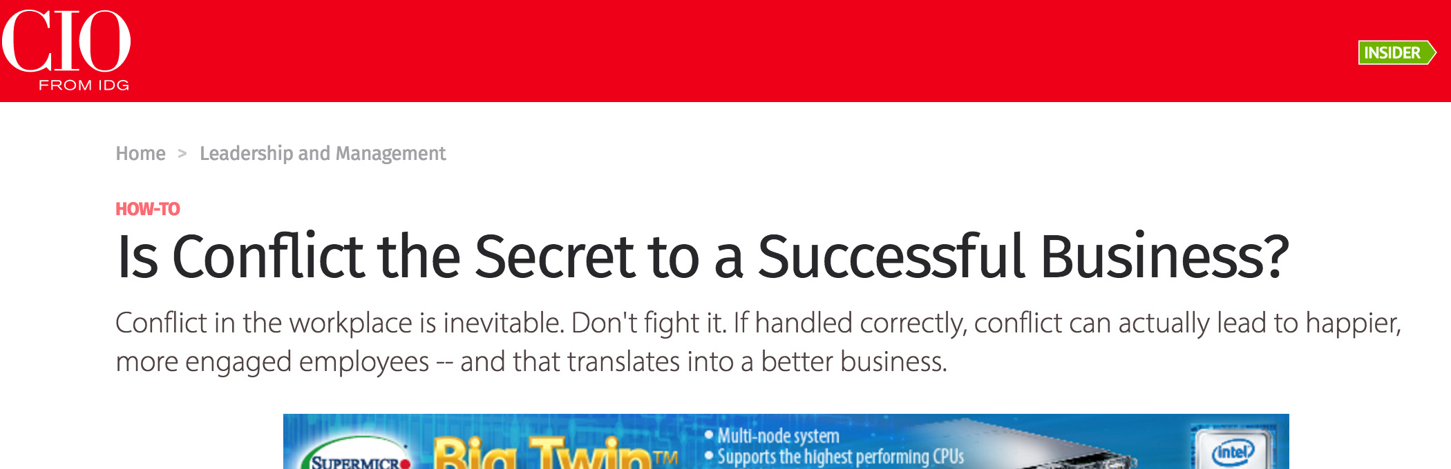 Secret to Business Success