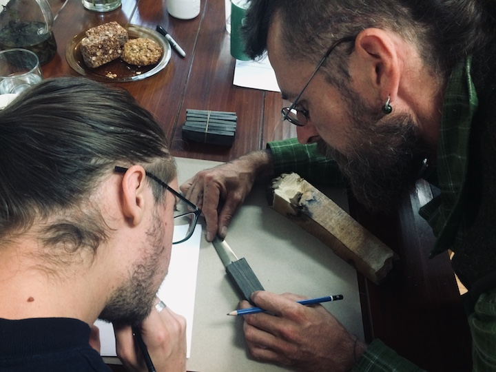 Designing the knife