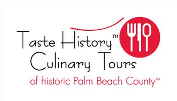 Taste History Culinary Tours of Historic Palm Beach County logo
