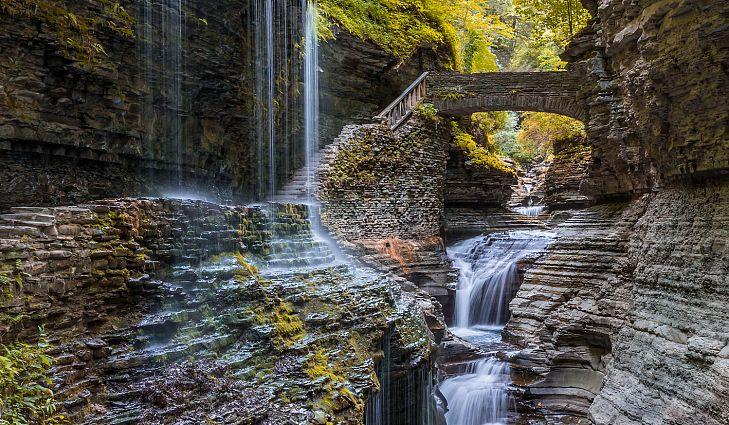 Hike Watkins Glen State Park