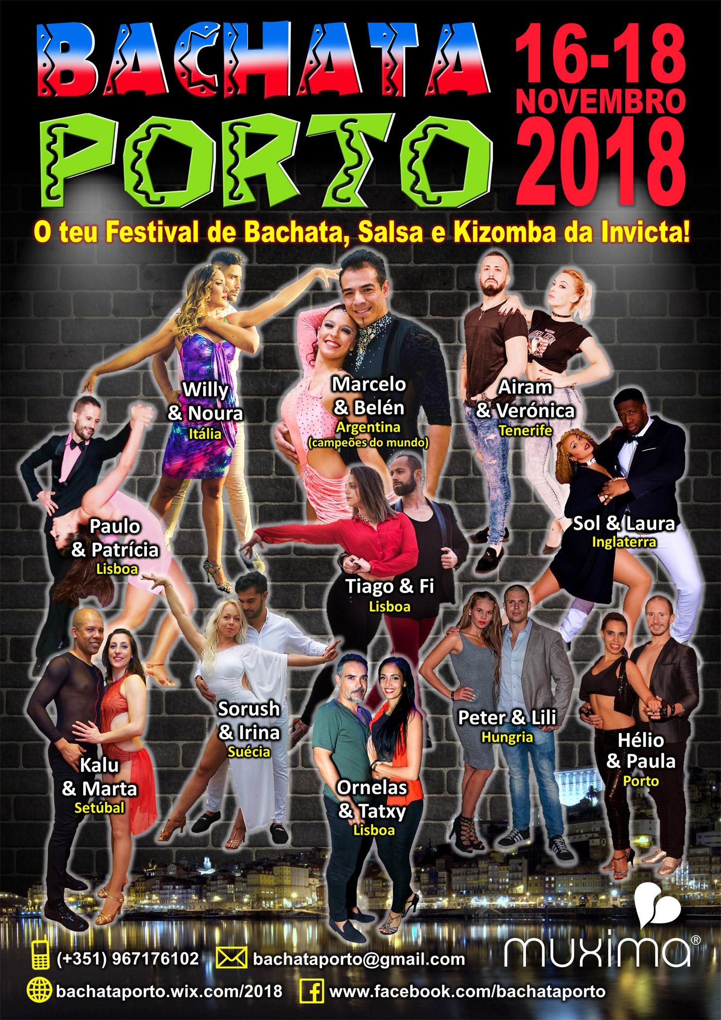 Poster Bachata Porto 2018
