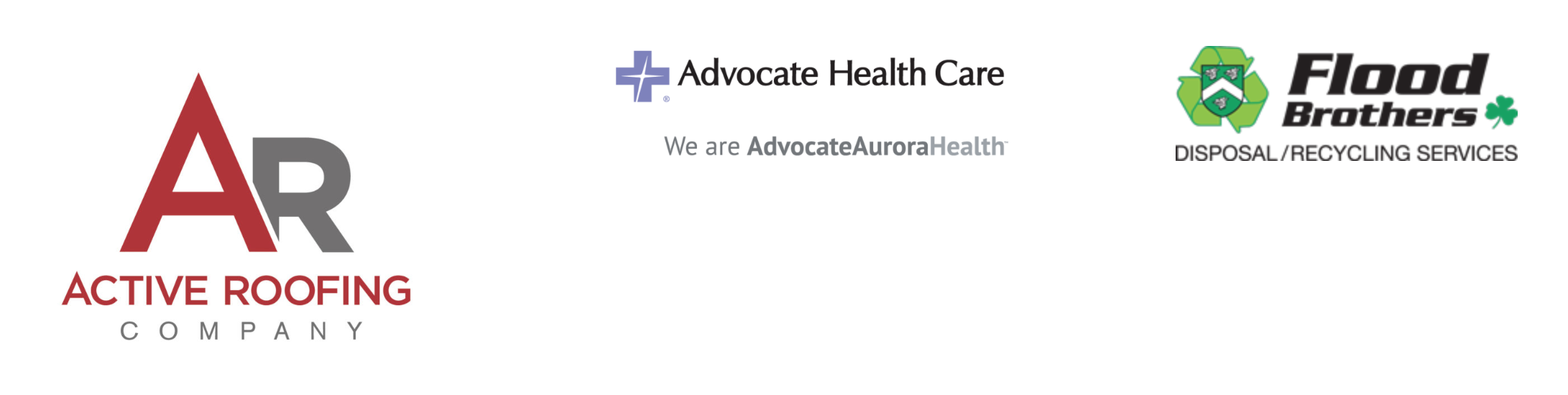 Active Roofing Advocate Healthcare and Flood Brothers